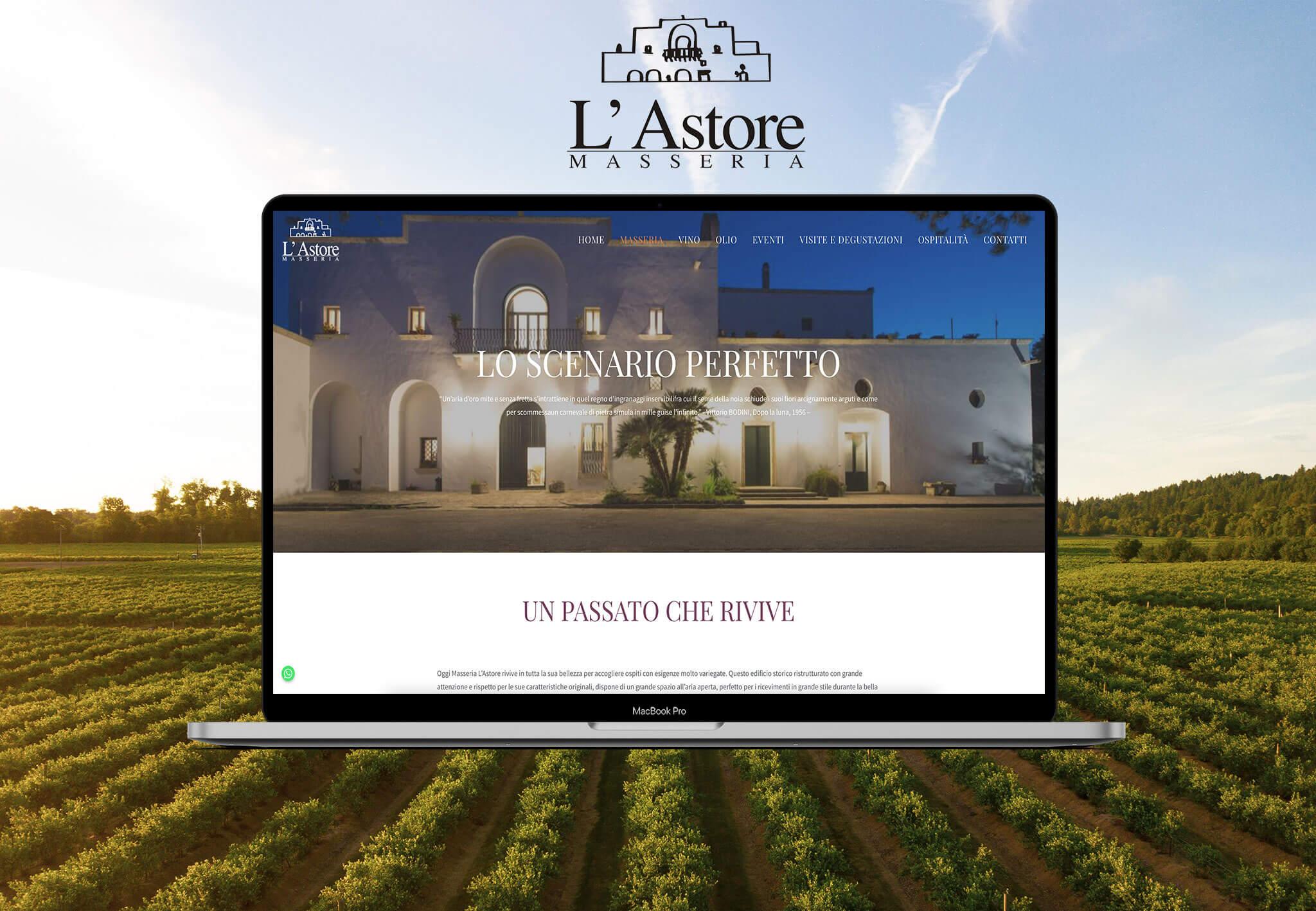 L'Astore Masseria Website